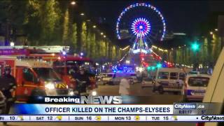 Policeman killed in Champs-Elysées shooting
