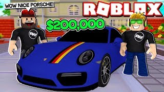 MY BRAND NEW PORSCHE 911 TURBO in ROBLOX VEHICLE SIMULATOR | DRAG RACES | CAR STUNTS