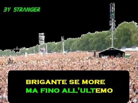 BRIGANTE SE MORE - EUGENIO BENNATO - KARAOKE