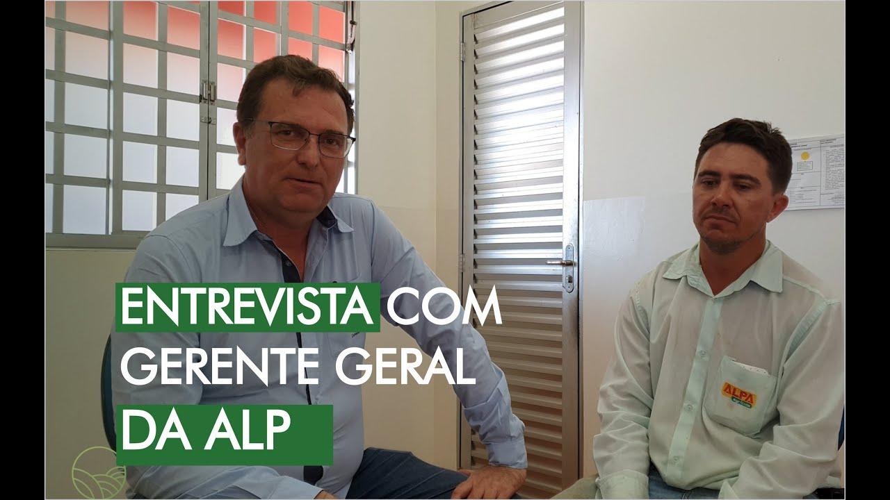Entrevista como o Gerente da Alpa Agricola