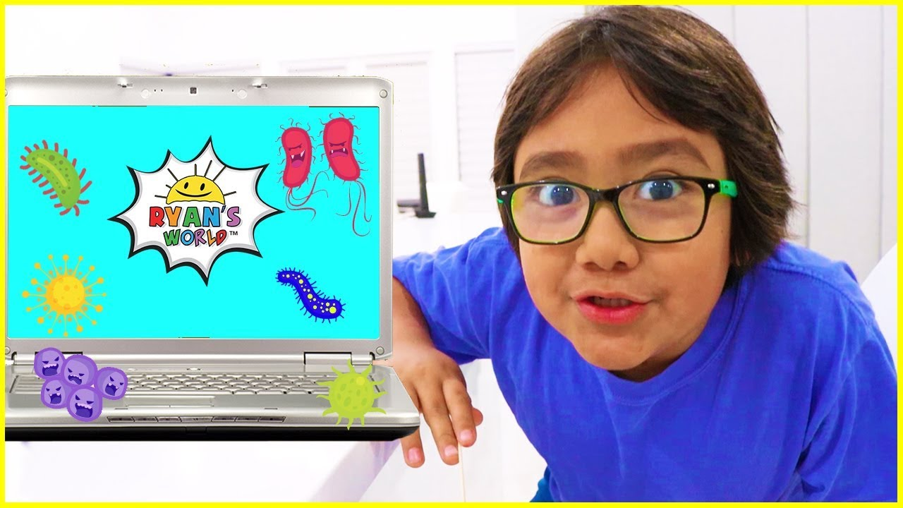 How much bacteria are on your laptop and more! | Easy DIY Science Experiment for kids