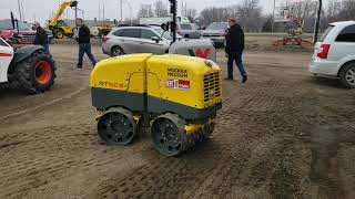 Video still for Farm Rite Open House Demo: Wacker Neuson RT SC31Trench Roller