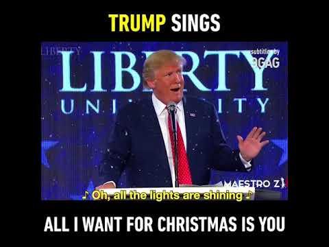 1e5618339f30e Donald Trump sings