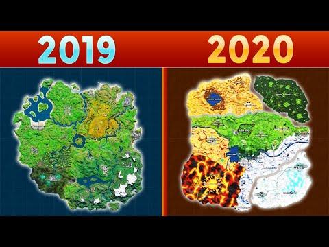 MAP & ISLAND Evolution Fortnite