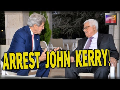 ARREST John Kerry! He Just BROKE the LAW with What He was CAUGHT Telling the Palestinians