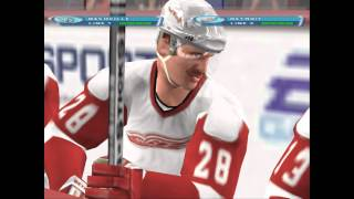NHL 2001: Detroit vs Nashville