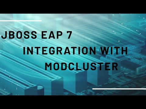 Jboss EAP 7 - Configure (Apache httpd) mod_cluster with EAP 7