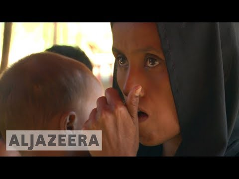 Rohingya refugees trapped and afraid in 'no man's land'