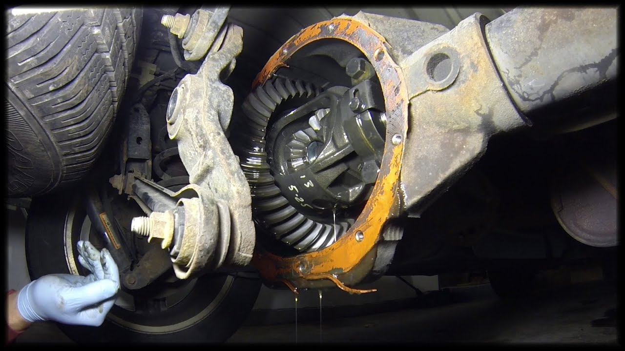 small resolution of 2007 dodge durango rear differential fluid change