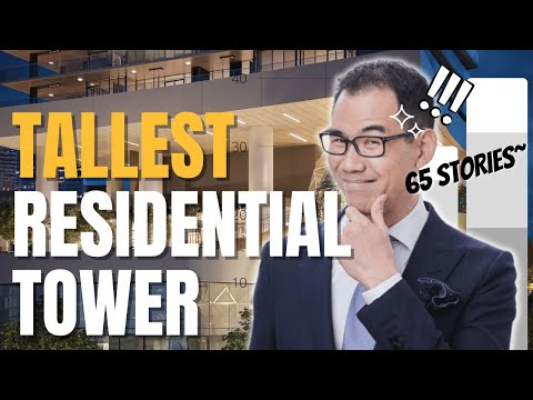 Tallest Tower in Greater Vancouver - 65 Storey! | CONCORD METROTOWN | CONCORD PACIFIC