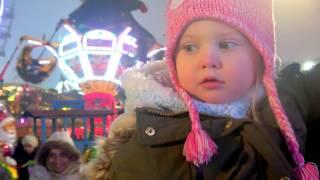 Эльвира везет Деда Мороза с подарками Влог Видео для детей Новогодние мультики