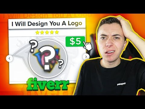 I Paid Graphic Designers on Fiverr to Make Me a Logo!