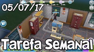 The Sims Freeplay: Tarefa Semanal [05-07-17]