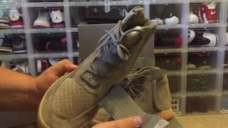 58516c001 Adidas Yeezy Boost 750 Grey Gum Glow FIRST LOOK ...