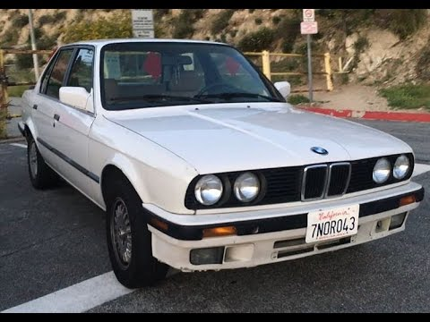 1991 bmw 325i e30 start up rev and walkaround youtube. Black Bedroom Furniture Sets. Home Design Ideas