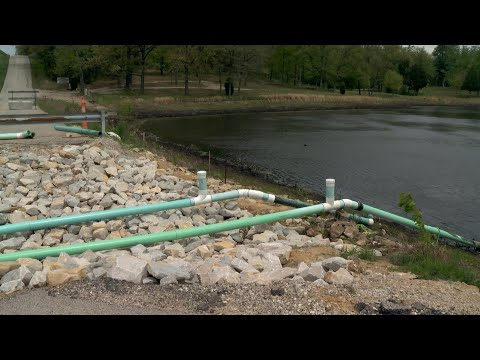 Huntingburg Dam Repair Approved
