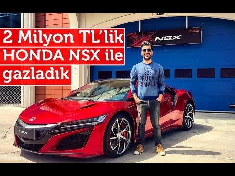 Doğan Kabak | 2 Milyon TL'lik Otomobil Honda NSX ile Pistte Gazladık