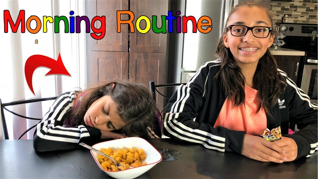 Download School Morning Routine Expectation vs Reality!!