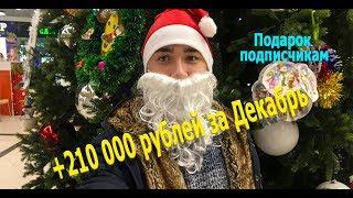 ★★★ Как заработать на Форекс? Отчёт за Декабрь + Подарок подписчикам! ★★★