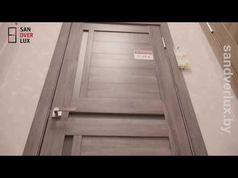 Обзор межкомнатной двери из экошпона Лайт 16, Sandverlux.by