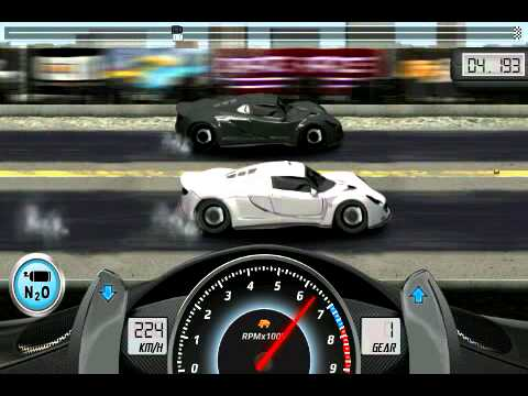 Drag Racing Android Hennessy Venom GT Online Game - YouTube