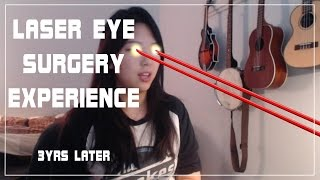 PRK Laser Eye Surgery 3Yrs Later I developed astigmatism