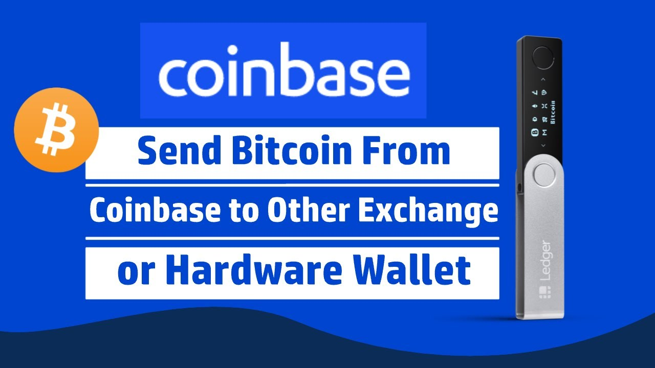 How to Send Bitcoin from Coinbase 2020 - YouTube