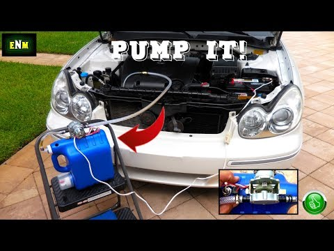 DIY Oil & Transmission Fluid Extractor Pump!