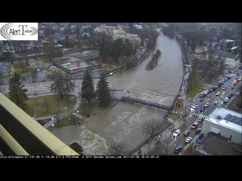AlertTahoe: Truckee River Flood Watch  4pm to 5pm PST