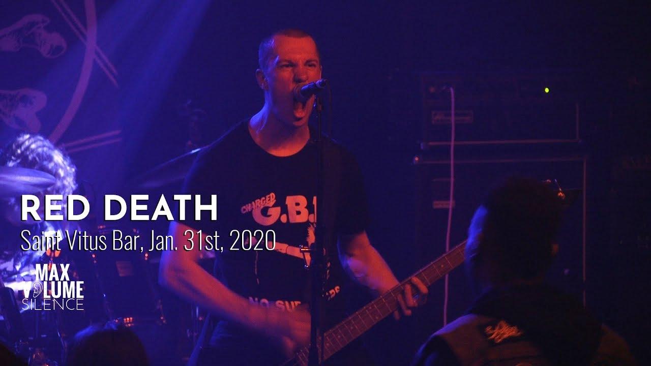 RED DEATH live at Saint Vitus Bar, Jan. 31st, 2019 (FULL SET)