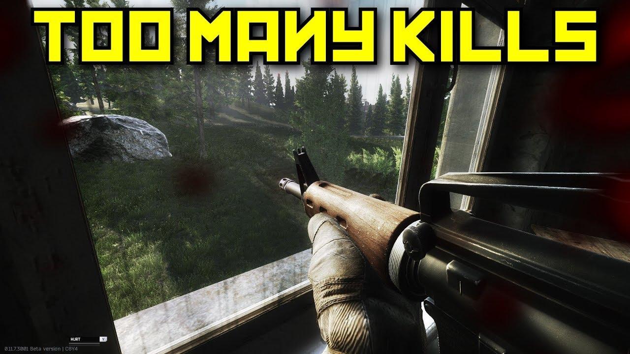 Too Many Kills - Escape From Tarkov Popular 100 videos