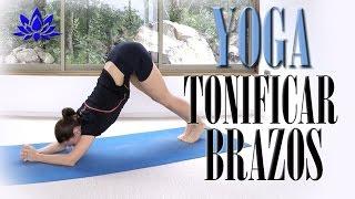 Yoga para tonificar BRAZOS y todo cuerpo | Clase completa 7