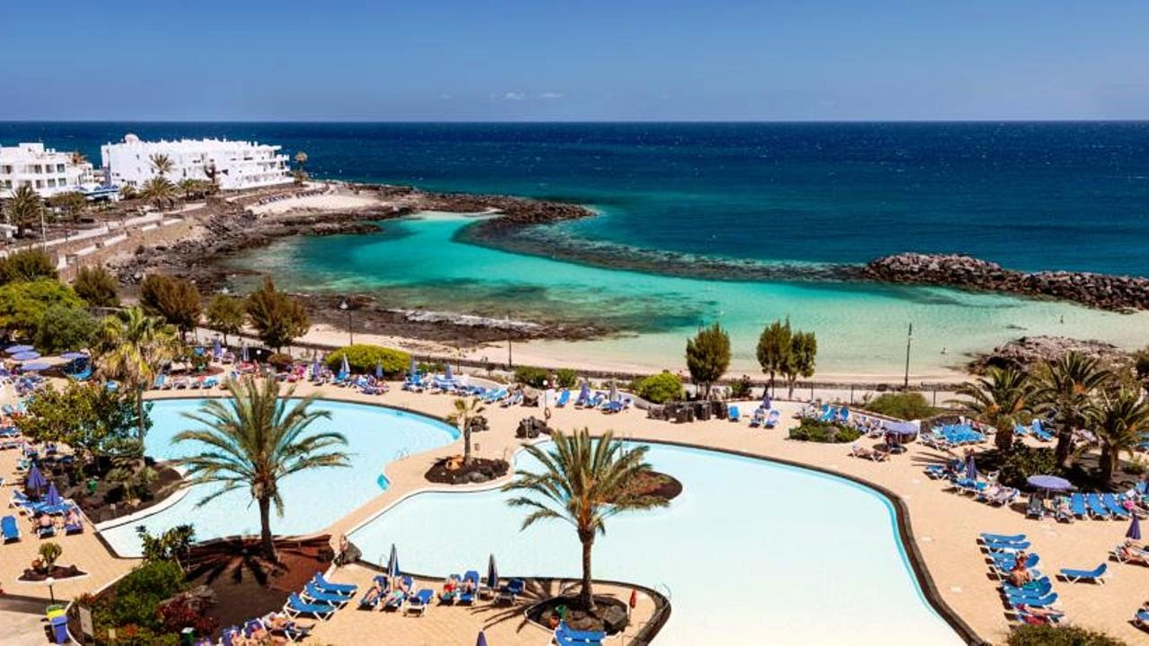 Grand Teguise Playa Hotel In Costa Teguise Lanzarote Canary Islands