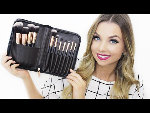 ALL ABOUT MAKEUP BRUSHES (My Essential Makeup Brush Set)