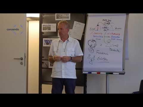Jürgen an Flipchart