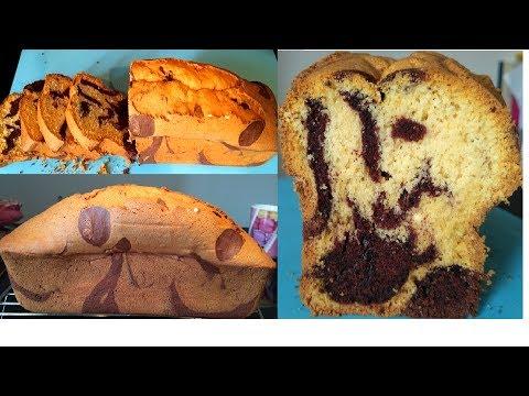 """""""cake-marbré-,-cacao-et-vanille-,-ultra-moelleux-/-recette-gâteau-facile"""""""