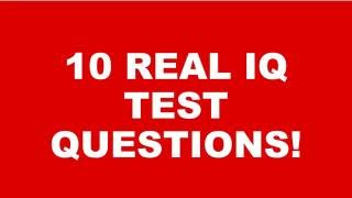 IQ Test With PICTURES
