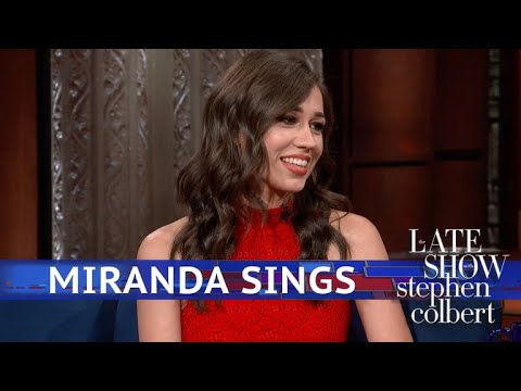 Miranda Sings Gives Birth On The Stephen Colbert  To A Hairy Squash