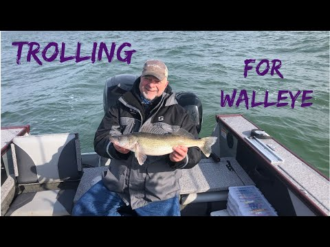 Trolling For Spring Walleye