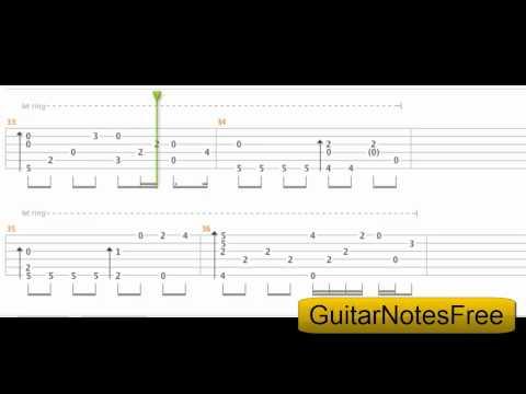 You Raise Me Up - Sungha Jung Guitar Tab HD