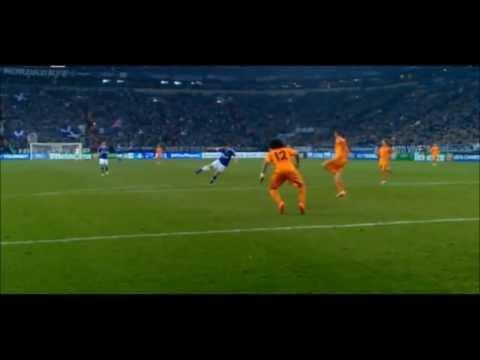 Klaas-Jan Huntelaar▷AMAZING GOAL▷Fantastic Goal Schalke 1:6 Real Madrid ▷Champions League 26/02/2014