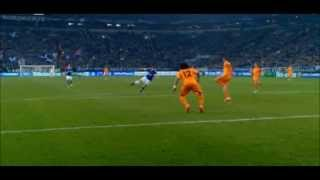 Klaas-Jan Huntelaar▷AMAZING GOAL▷Fantastic Goal Schalke 1:6 Real Madrid ▷Champions League 26/02/2014