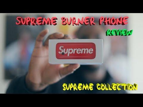Supreme Blu Burner Phone  Review & Supreme Collection !