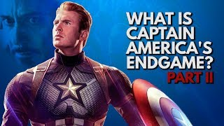 What is Captain America's Endgame? | Video Essay