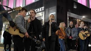 DCT Buskers impromptu jam (part 9) Someone You Loved