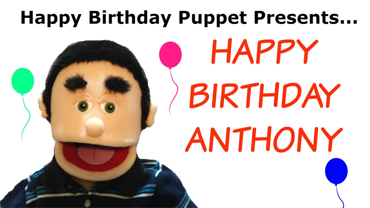 maxresdefault happy birthday anthony funny birthday song youtube