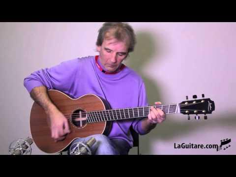 Georges Lowden - WL-35 FF par Marc Lonchampt - Salon de la Belle Guitare 2016