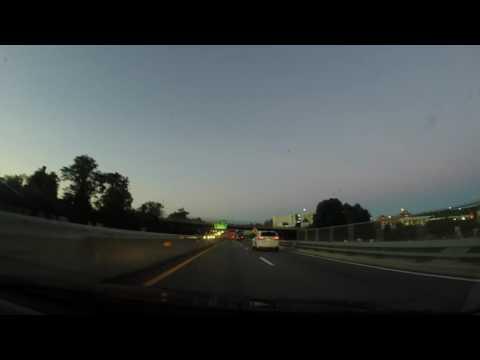 White Crossover Lane Incursion