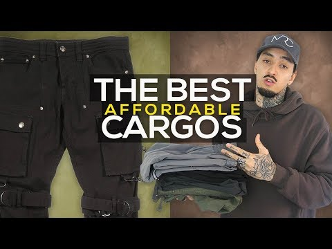 the-best-cargo-pants-|-affordable-streetwear-2018