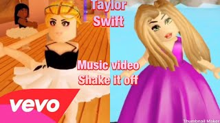 ROBLOX/Taylor Swift Shake it Off//Musik-Video